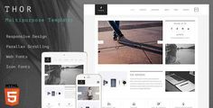 Thor – Creative Multipurpose  Template Good to see you here! Thor Template is creative multipurpose template for anyone. This template can be used for creative, portfolio, agency or multipurpose w...