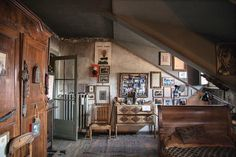 "631 Likes, 7 Comments - T: The NYTimes Style Magazine (@tmagazine) on Instagram: ""#RoomOfTheDay: The former studio of the Italian ""outsider"" artist Carol Rama, who died in 2015, in…"""