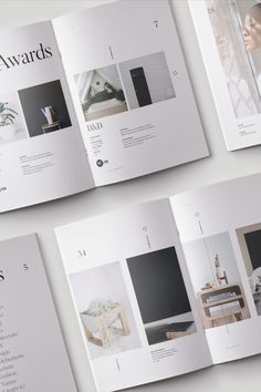 A portfolio template with different sections where you can show. Minimal Graphic Design, Graphic Design Layouts, Design Posters, Graphic Design Portfolios, Brochure Layout, Brochure Design, Layout Cv, Print Layout, Resume Design