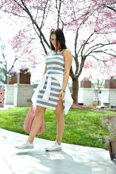 striped dress for sp