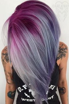 Have you already seen a pastel purple hair color in the streets of your city? A pastel purple hair color has become quite popular nowadays. Try this color and show off your unique personality with the help of our ideas.