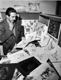 released in Walt Disney was striving to push the limits of realistic animation, but some critics at the time denounced the realism as coming at the expense of magic and fantasy element. Credit: Courtesy of the Walt Disney Archives Photo Library ©Disney Retro Disney, Art Disney, Disney Kunst, Disney Love, Disney Magic, Walt Disney World, Disney Pixar, Bambi Disney, Disney Bound