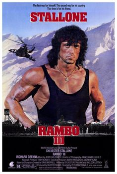 Rambo lll movie poster