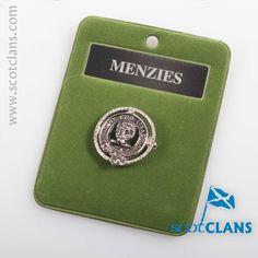 Menzies Clan Crest B