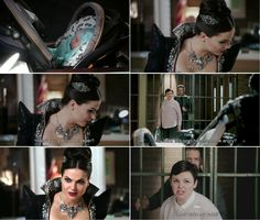 """You think this spell made me angry? Do not wake my baby!"" Snow White and Regina - 4 * 10 ""Shattered Sight"""