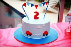 A car party using the printables from Style Me Gorgeous that you are using