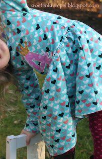 krötenkrempel: Geburtstagskleid zum 4. - Fidelia von Erbsünde