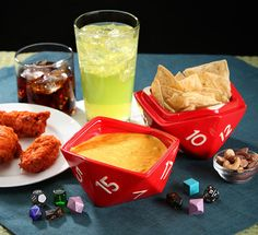 Dungeons and Dragons #D20 Bowl Set