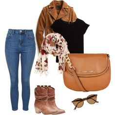 fall by vbstyle88 on Polyvore featuring MANGO, Exclusive for Intermix, Topshop, Wet Seal, MICHAEL Michael Kors, H&M and Ray-Ban