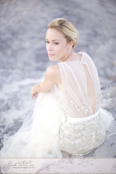 I love the simple beauty of this image. Girl Empowerment, Dennis Basso, Designer Wedding Gowns, Trendy Collection, Bohemian Wedding Dresses, Philadelphia Wedding, Bridal Gowns, Wedding Photos, Flower Girl Dresses