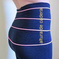 Cómo se toma la medida de tiro para el pantalón descaderado | EL BAÚL DE LAS COSTURERAS