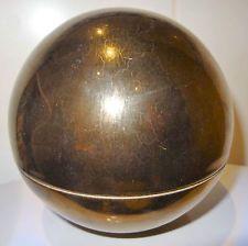 Vase boule céramique Villeroy&Boch noir lustré design seventies