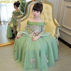 Luxurious off the shoulder half flare sleeve Princess Girl Dresses .**Rush order please contact us** Processing time business day after payment . Source by redvelvetrucker kids girl Baby Girl Party Dresses, Dresses Kids Girl, Baby Dress, Kids Wedding Dress, Baby Girl Birthday Dress, Girls Pageant Dresses, Dress Girl, Prom Dresses, Summer Dresses
