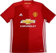 dbae54ada 2016-17 Manchester United Home Shirt (Very Good) M
