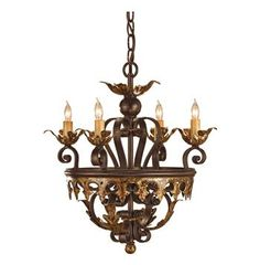 Buy the Currey and Company 9216 Black Bronze/Gold Leaf Direct. Shop for the Currey and Company 9216 Black Bronze/Gold Leaf Castello Chandelier with Customizable Shades and save. Bronze Chandelier, Chandelier Pendant Lights, Luz Natural, Mediterranean Lighting, Bronze Gold, Light In, Rustic Elegance, Lowes Home Improvements, Spanish Style