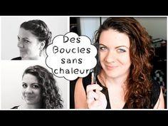 21 meilleures images du tableau Boucles sans chaleur   Curly hair ... d714a20782d