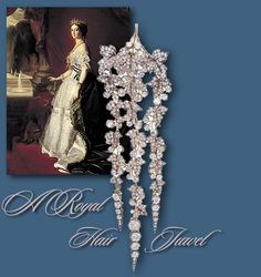the french crown jewels - Bing Images Diamond Crown, Diamond Flower, Diamond Pendant, Royal Crown Jewels, Royal Jewelry, Silver Jewelry, Silver Earrings, Jewellery, Antique Jewelry