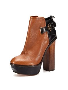 Jordanna Bootie in tan by Dolce Vita at Gilt