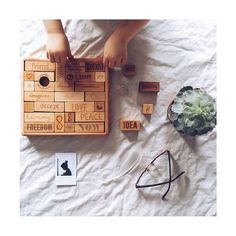 m u s t h a v e ! These wooden blocks from @woodenstory #playtime #woodentoys