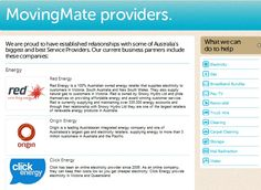 http://movingmate.com.au/about-us MovingMate is a free, no obligation, and convenient 'one stop shop' service for home movers. It is designed to reduce the stress and time involved in moving home.