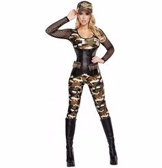 Sexy Army Costume