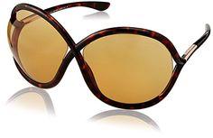 dfe7e0e45c Tom Ford Sunglasses – Francoise   Frame  Havana Lens  Brown Review  Sunglasses Women