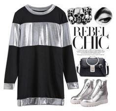 """""""~You, rebel you~"""" by amethyst0818 ❤ liked on Polyvore featuring vintage"""