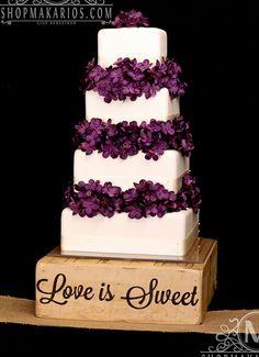 Wedding Cake Stand #weddingcakes