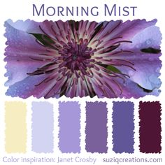 Morning Mist Color Palette