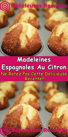 Biscuit Cake, Biscuit Cookies, Beignets, Madeleine Recipe, Chiffon Cake, Baking Tins, Batch Cooking, Eat Smart, Mini Cakes