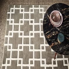 Cubis by Romo feature a strong geometric pattern of interlocking cubes making this an eye catching contemporary rug suited for most homes. Romo Fabrics, Hand Tufted Rugs, Custom Rugs, Rug Making, Persian Rug, Kids Rugs, Colours, Display