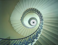 Tulip Stairs at the Queen's House (via Visit Greenwich)