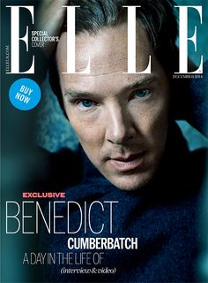 Benedict Cumberbatch to appear on special cover of ELLE Magazine   Fashion, Trends, Beauty Tips & Celebrity Style Magazine   ELLE UK