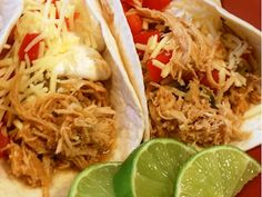 Spokane Dinner Club: Crockpot Cilantro Lime Chicken Tacos