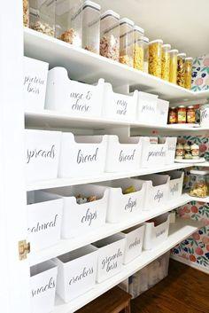 Pantry Organization Ideas Kitchen Organization, Organization Ideas, Storage Solutions, Laundry Room, Kitchen Organisation, Kitchen Staging, Organizing Ideas, Organizing Tips