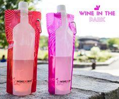 Big Capri Sun for adults! Take your wine to the park, beach, lake, ball games, or tailgating parties without the inconvenience of glass. These wine pouches are stylish too! #Winearoo