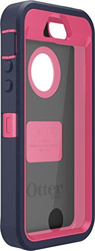 OtterBox Defender Series Case for Apple iPhone 5/5S - Retail Packaging - Blaze Pink/Admiral Blue - http://topcellulardeals.com/accessories/?product=otterbox-defender-series-case-for-apple-iphone-55s-retail-packaging-blaze-pinkadmiral-blue Ensure your amazing iPhone 5s prevails through your busy life unharmed. The Otter Box Defender Series case is designed to protect your iPhone 5s