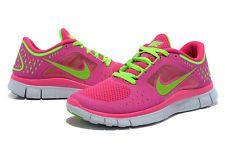 Nike Free Run 3.0 5.0 Women Running, Gym, Training, Tennis Shoes Coral Pink