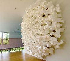 styrofoam art