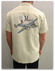 Airplane Shirt B-25 Mitchell   Spoke N Wheelz