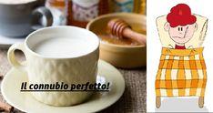 Latte e miele: un toccasana contro tosse, raffreddore, e insonnia Curcuma Latte, Health Fitness, Tableware, Friends, Medicine, Gold, Amigos, Dinnerware, Tablewares