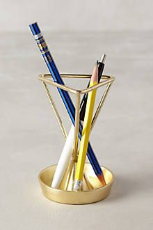 Angled Heirloom Pencil Holder