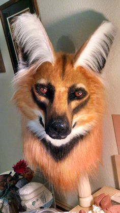 realistic fursuit head