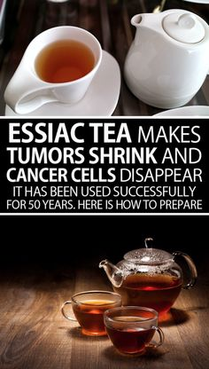 Essiac tea makes tumors shrink and cancer cells disappear. It has been used successfully for … Essiac makes tumors shrink and cancer cells disappear. It has been used successfully for 50 years. Here is how to prepare it! Natural Cancer Cures, Natural Remedies, Herbal Remedies, Natural Medicine, Herbal Medicine, Yoga Fitness, Health Fitness, Ancient Recipes, Cancer Fighting Foods