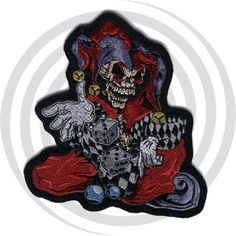 Lethal Threat embroidered patches are the most detailed and sought after patches in the Biker market place. Each patch has a heat seal backing for iron on appli Lion Sculpture, Patches, Skull, Statue, Art, Art Background, Kunst, Performing Arts, Sculptures