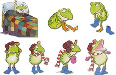 Free Froggy Gets Dressed Clothing Props The Mother And