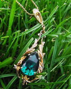jewelry in grass?