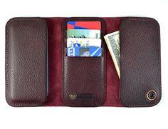 HTC One case & wallet  Italian leather by semofir on Etsy, $109.00 by Semofir Brussardo Art in Leather