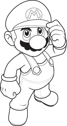 Super Mario Coloring Pages For Kids: This article brings you a number of super Mario coloring sheets, depicting them in both humorous and realistic ways. Free Printable Super Mario Coloring Pages Online Coloring Sheets For Kids, Coloring Pages To Print, Free Printable Coloring Pages, Coloring Book Pages, Coloring Pictures For Kids, Drawing Sheets For Kids, Kids Colouring, Free Printables, Super Hero Coloring Sheets