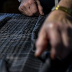 Handcrafted to flow with movement, it's the precise pleating that brings a kilt to life. The flare of underlying patterns, colours and textures reveals the depth of #tartan. #thehouseofedgar #hebridean #cairn #kiltedmen #meninkilts #kilt #kiltmaker #bespoke #choosewool #groomsmenstyle #groomswear Kilt Hire, Traditional Jacket, Men In Kilts, Tartan, Bespoke, Flow, Rings For Men, Colours, Patterns